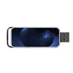 Blue Heart Collection Portable Usb Flash (two Sides) by timelessartoncanvas