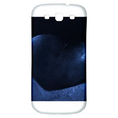 Blue Heart Collection Samsung Galaxy S3 S Iii Classic Hardshell Back Case by timelessartoncanvas