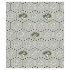 Castles Of Burgundy   Gray Tiles By Philipp Wolter   Drawstring Pouch (small)   Et64lc8shofk   Www Artscow Com Front