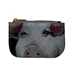 Piggy No  1 Mini Coin Purses by timelessartoncanvas