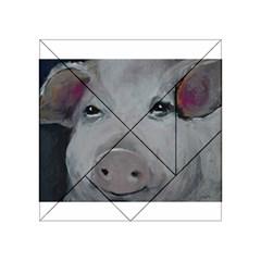 Piggy No. 1 Acrylic Tangram Puzzle (4  x 4 )