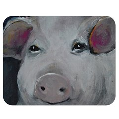 Piggy No  1 Double Sided Flano Blanket (medium)
