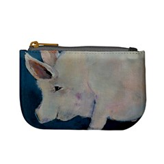 Piggy No  2 Mini Coin Purses by timelessartoncanvas