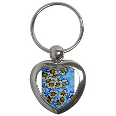 Floating On Air Key Chains (heart)  by timelessartoncanvas