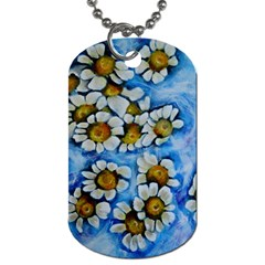 Floating On Air Dog Tag (two Sides) by timelessartoncanvas