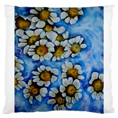 Floating On Air Large Cushion Cases (one Side)  by timelessartoncanvas