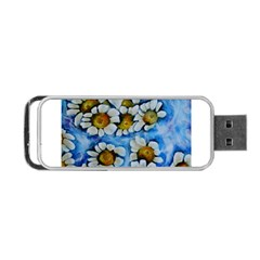 Floating On Air Portable Usb Flash (one Side) by timelessartoncanvas