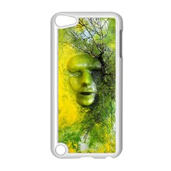 Green Mask Apple Ipod Touch 5 Case (white) by timelessartoncanvas