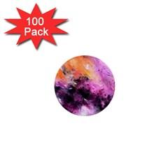 Nebula 1  Mini Buttons (100 Pack)  by timelessartoncanvas