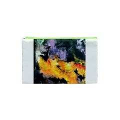 Space Odessy Cosmetic Bag (xs) by timelessartoncanvas