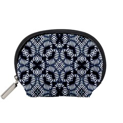 Futuristic Geometric Print  Accessory Pouches (small)  by dflcprints