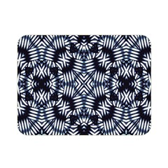 Futuristic Geometric Print  Double Sided Flano Blanket (mini)  by dflcprints