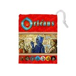 Orléans - Player Red - Drawstring Pouch (Medium)