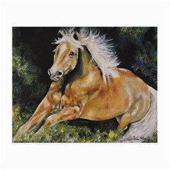 Mustang Small Glasses Cloth by timelessartoncanvas