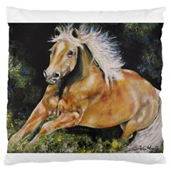 Mustang Large Flano Cushion Cases (two Sides)  by timelessartoncanvas