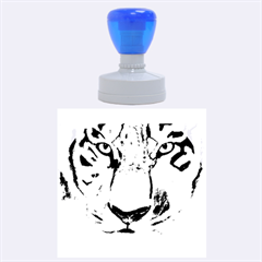 The Eye Of The Tiger Rubber Round Stamps (large) by timelessartoncanvas