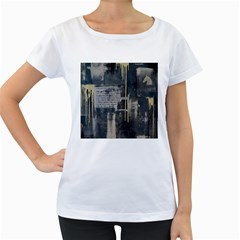 The Dutiful Rise Women s Loose Fit T Shirt (white) by timelessartoncanvas