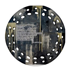 The Dutiful Rise Ornament (round Filigree)  by timelessartoncanvas
