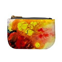 Fire, Lava Rock Mini Coin Purses by timelessartoncanvas