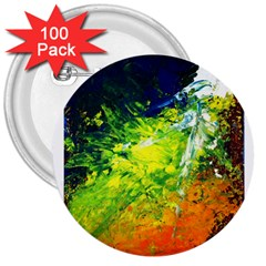 Abstract Landscape 3  Buttons (100 Pack)  by timelessartoncanvas