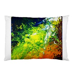 Abstract Landscape Pillow Cases by timelessartoncanvas