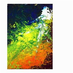 Abstract Landscape Small Garden Flag (Two Sides) by timelessartoncanvas