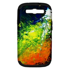 Abstract Landscape Samsung Galaxy S Iii Hardshell Case (pc+silicone) by timelessartoncanvas