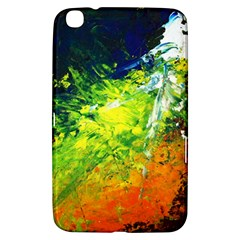Abstract Landscape Samsung Galaxy Tab 3 (8 ) T3100 Hardshell Case  by timelessartoncanvas