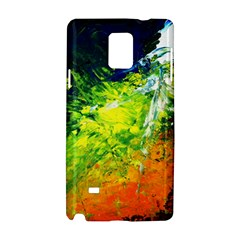 Abstract Landscape Samsung Galaxy Note 4 Hardshell Case by timelessartoncanvas