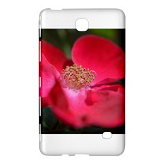 Bright Red Rose Samsung Galaxy Tab 4 (7 ) Hardshell Case  by timelessartoncanvas