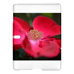Bright Red Rose Samsung Galaxy Tab S (10 5 ) Hardshell Case  by timelessartoncanvas