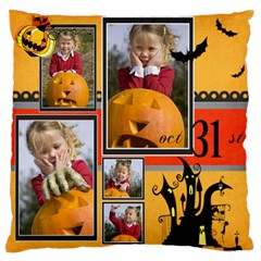 Halloween By Helloween   Large Flano Cushion Case (two Sides)   Q7jjm4y87a3a   Www Artscow Com Front