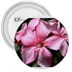 Pink Oleander 3  Buttons by timelessartoncanvas