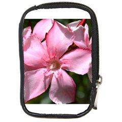 Pink Oleander Compact Camera Cases by timelessartoncanvas