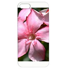 Pink Oleander Apple Iphone 5 Hardshell Case With Stand by timelessartoncanvas