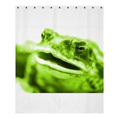 Green Frog Shower Curtain 60  X 72  (medium)  by timelessartoncanvas