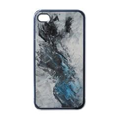 Ghostly Fog Apple Iphone 4 Case (black) by timelessartoncanvas
