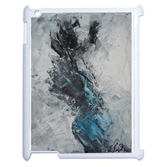 Ghostly Fog Apple Ipad 2 Case (white) by timelessartoncanvas