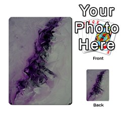 The Power Of Purple Multi Purpose Cards (rectangle)  by timelessartoncanvas