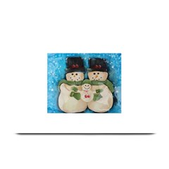 Snowman Family Plate Mats by timelessartoncanvas