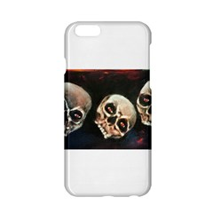 Halloween Skulls No  2 Apple Iphone 6 Hardshell Case by timelessartoncanvas