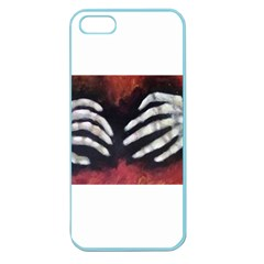 Halloween Bones Apple Seamless Iphone 5 Case (color) by timelessartoncanvas