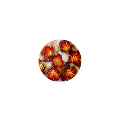 Fall Flowers 1  Mini Buttons by timelessartoncanvas