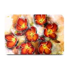 Fall Flowers Plate Mats by timelessartoncanvas