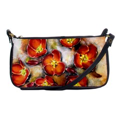 Fall Flowers Shoulder Clutch Bags by timelessartoncanvas