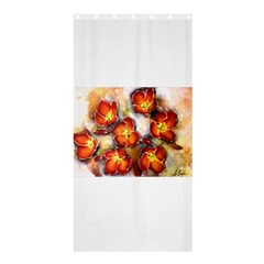 Fall Flowers Shower Curtain 36  X 72  (stall)  by timelessartoncanvas