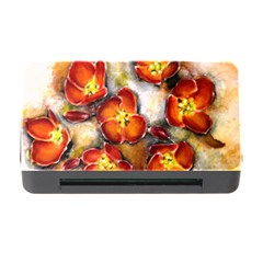 Fall Flowers Memory Card Reader With Cf by timelessartoncanvas