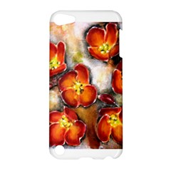 Fall Flowers Apple Ipod Touch 5 Hardshell Case by timelessartoncanvas