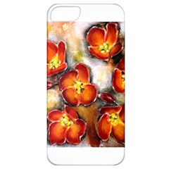Fall Flowers Apple Iphone 5 Classic Hardshell Case by timelessartoncanvas