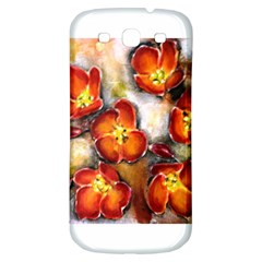 Fall Flowers Samsung Galaxy S3 S Iii Classic Hardshell Back Case by timelessartoncanvas